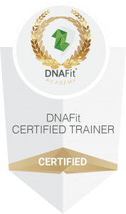 DNAFit Certified Trainer logo